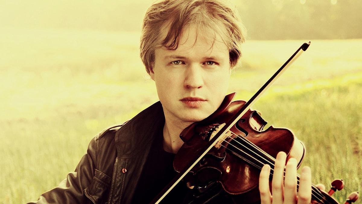 Den norske violinisten Henning Kraggerud. Pressbild/Robert Romik