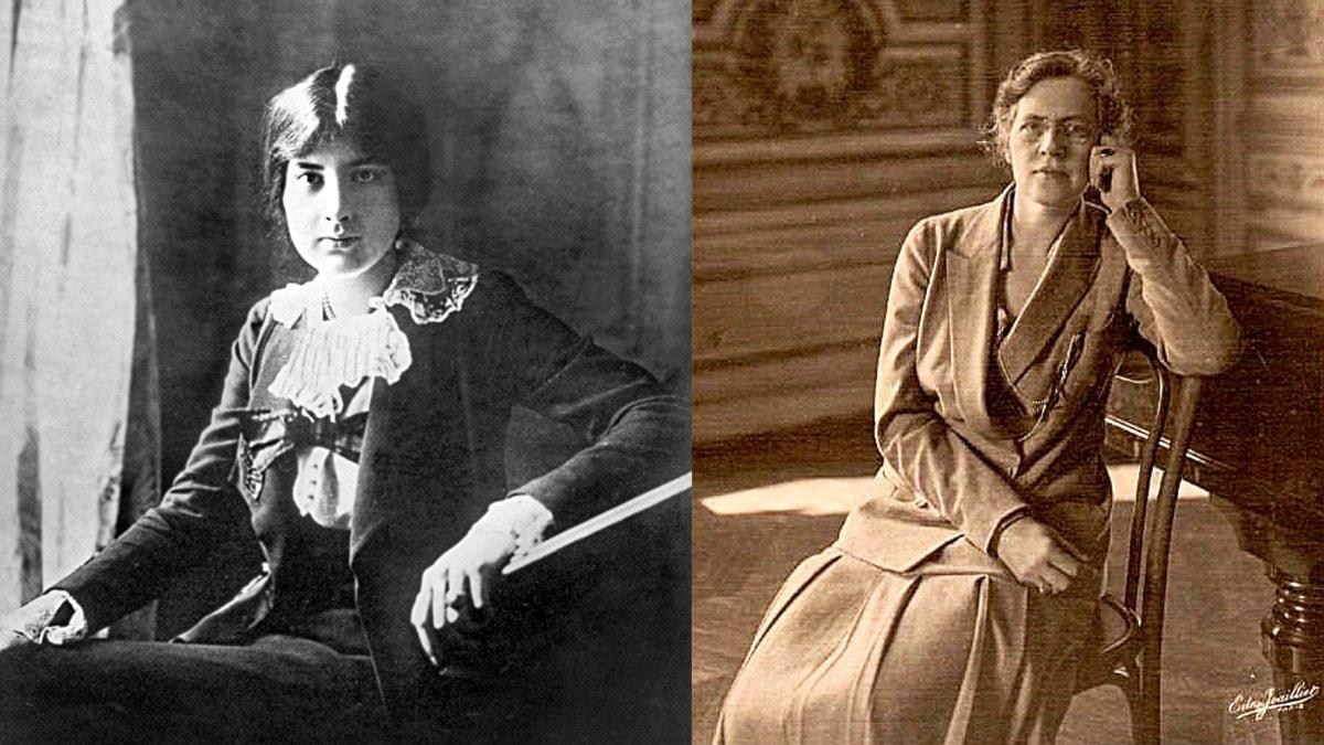 Lili och Nadia Boulanger.