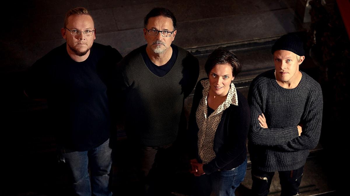 Mikael Godée Eve Beuvens Quartet. Pressbild/Magnus Bergström