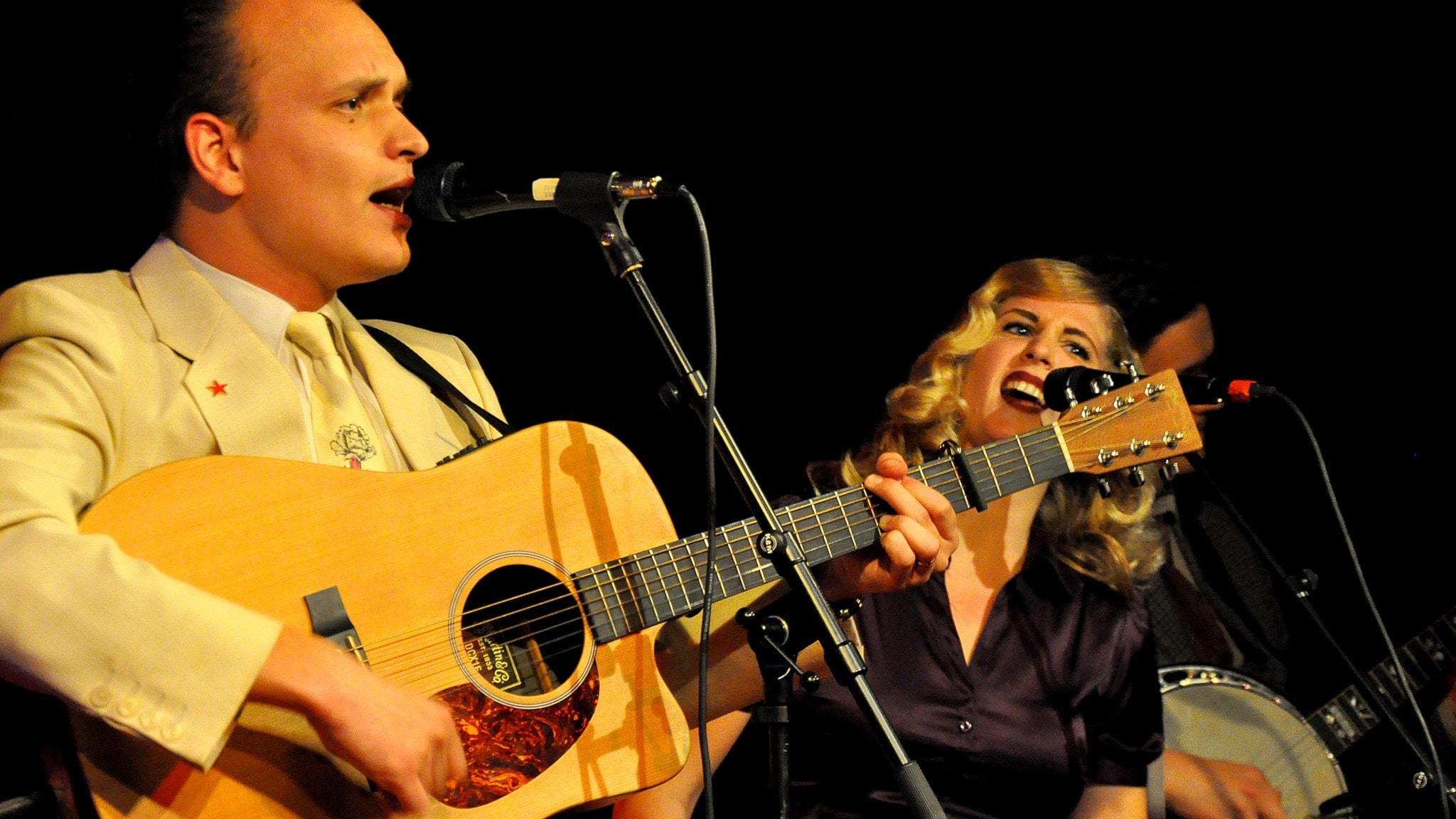David Ritschard och Agnes Odén i Spinning Jennies. Foto: Mats Einarsson/Sveriges Radio