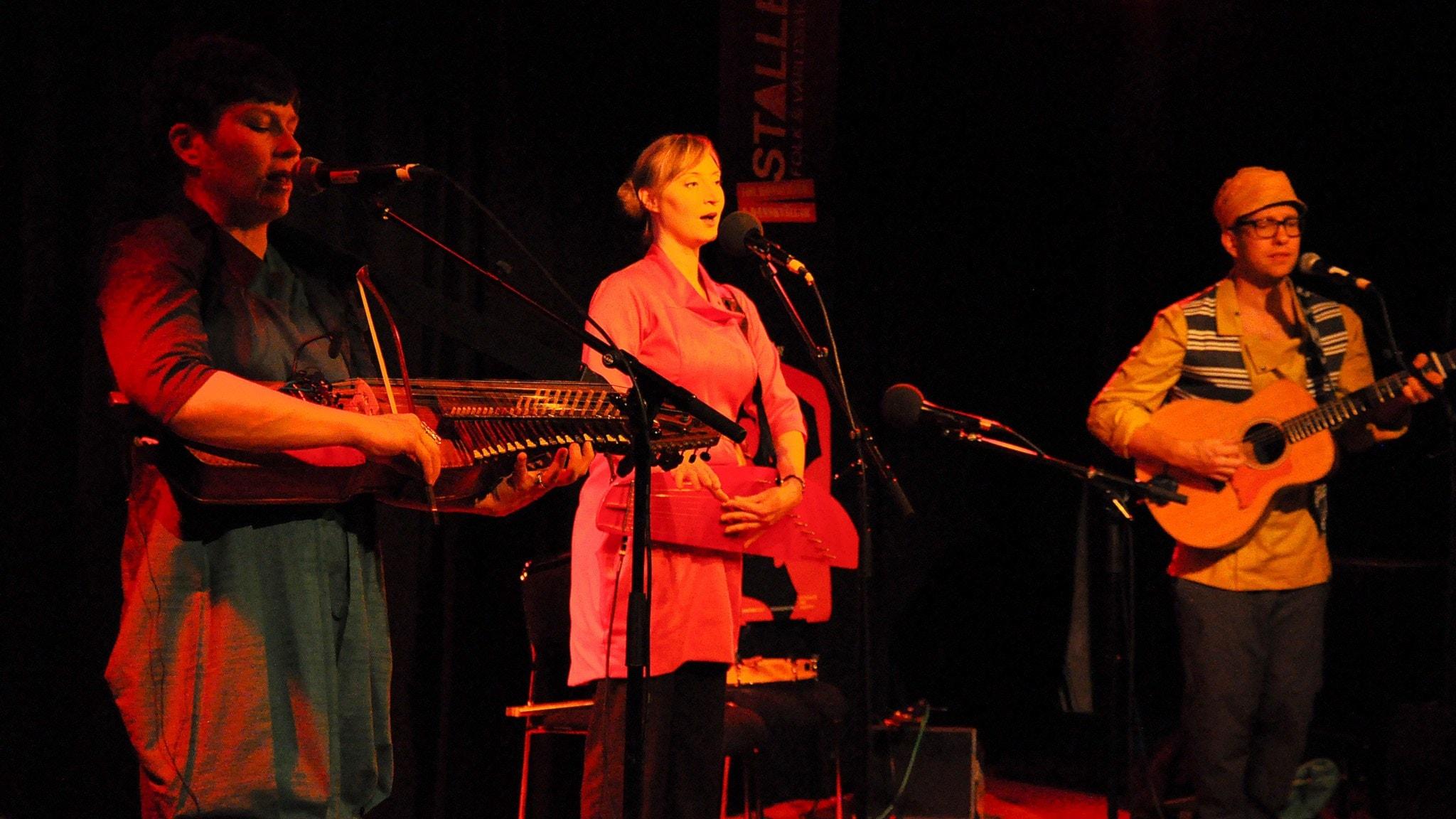 Finska trion Suo. Foto: Mats Einarsson/Sveriges Radio