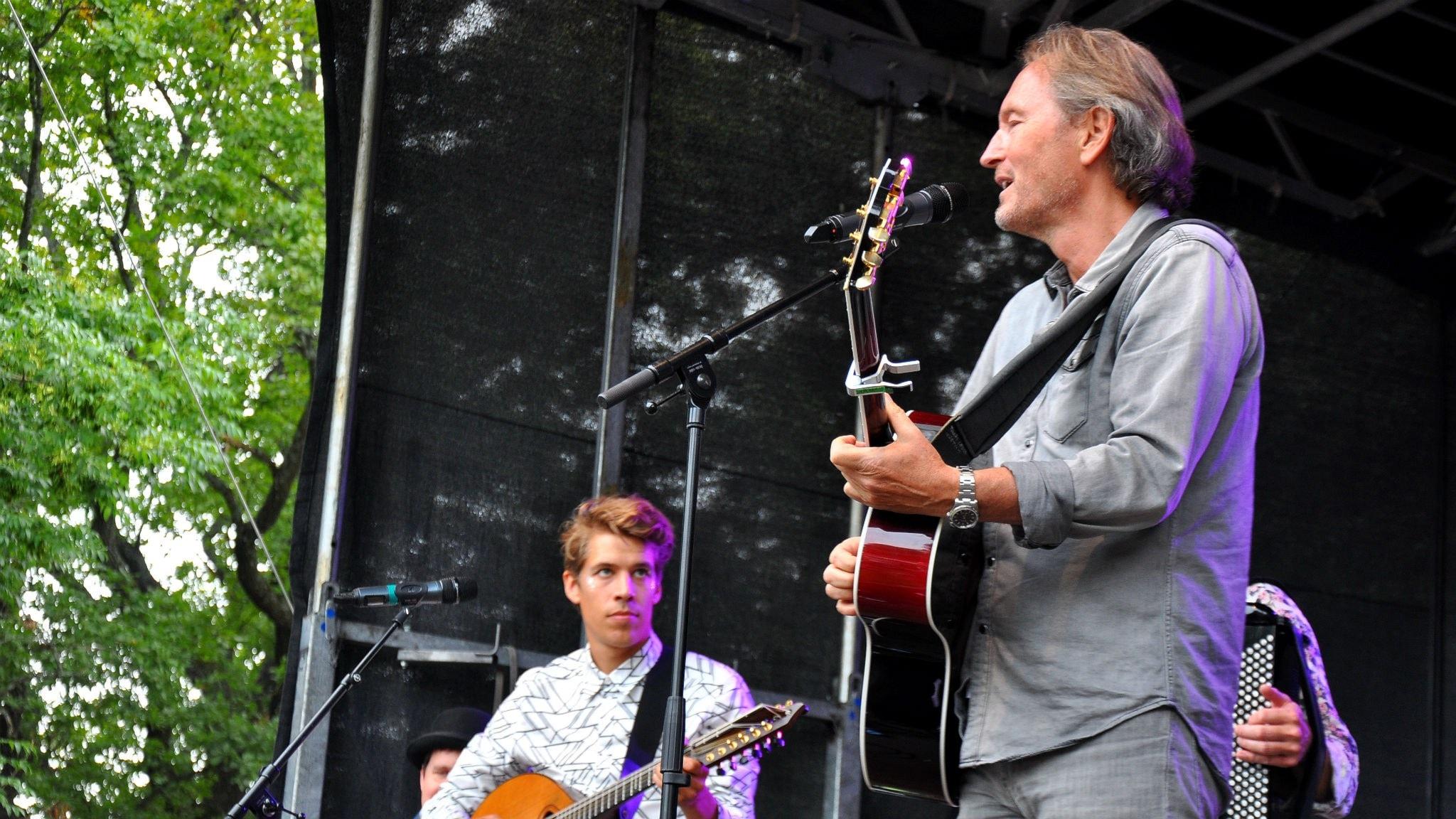 Erik Rask i Kolonien och Tomas Ledin.