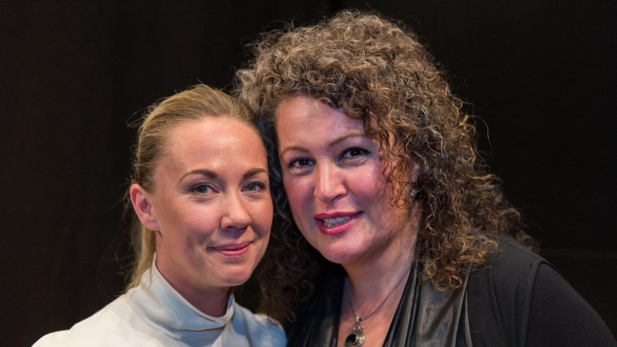 Lisa Nordström och Burcu Ada. Foto: Jan Wieslander/Sveriges Radio