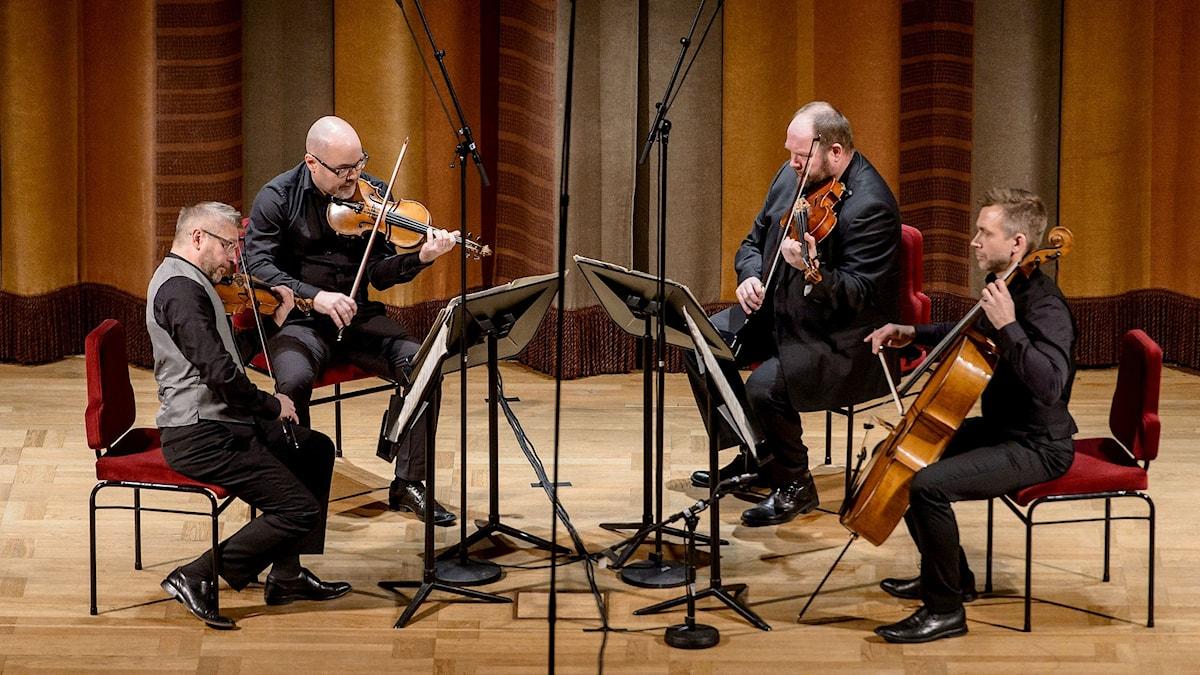 Stenhammarkvartetten. Foto: Jan-Olav Wedin/Konserthuset