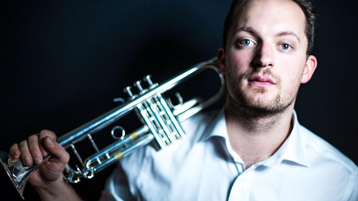 Trumpetaren Filip Draglund.