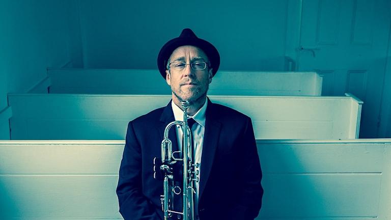 Trumpetaren Dave Douglas.