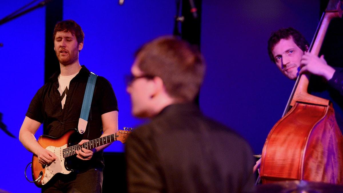 Nir Felder trio på Umeå Jazzfestival 2015.