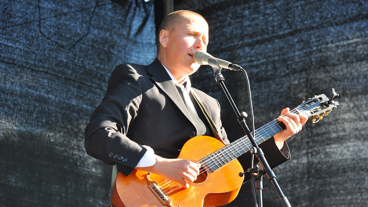 Nino Ramsby på Stockholm folk festival 2015.