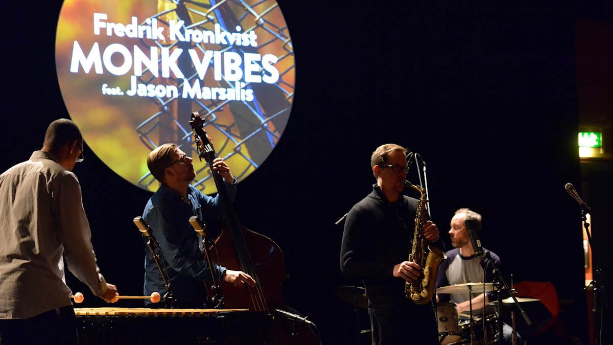 Kronkvist Marsalis - Monk Vibes i Studion Umeå folkets hus 17 mars 2016.