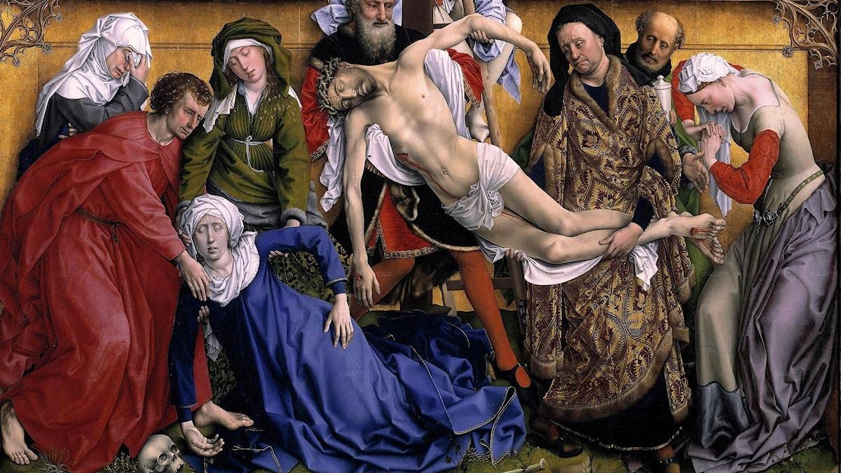 Nedtagandet av Jesus på korset