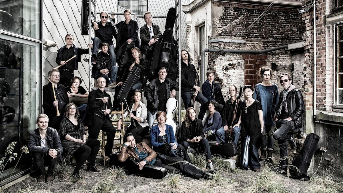 Den belgiska barockorkestern B'rock.