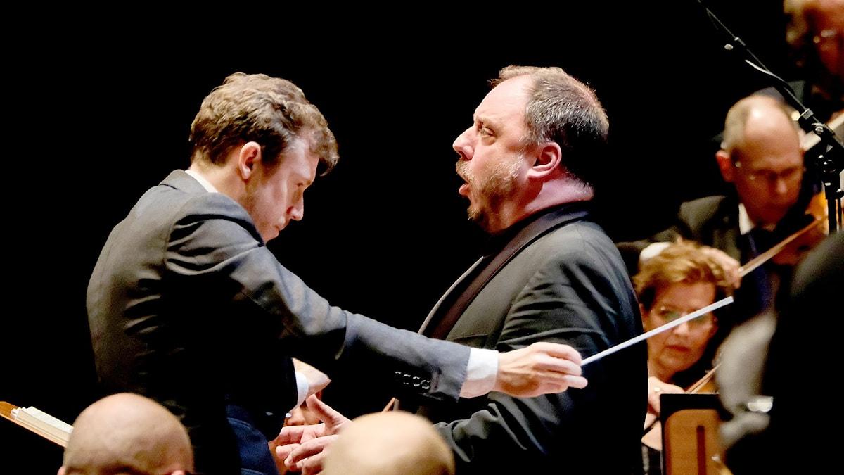 Daniel Harding och Matthias Goerne.