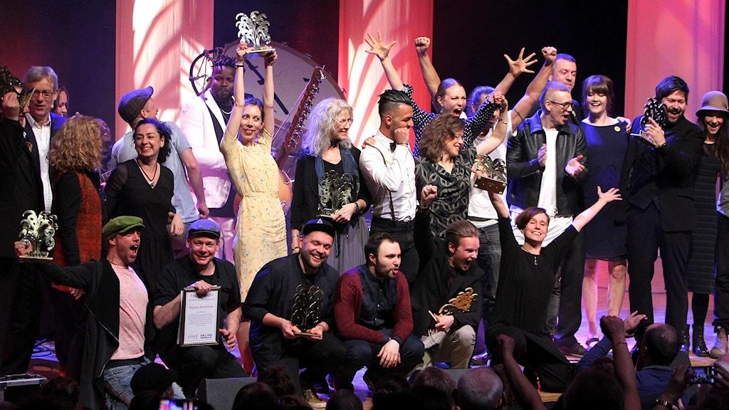 Folk- och Världsmusikgalans vinnare