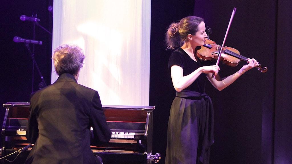 Lisa Rydberg och Gunnar Idanstam