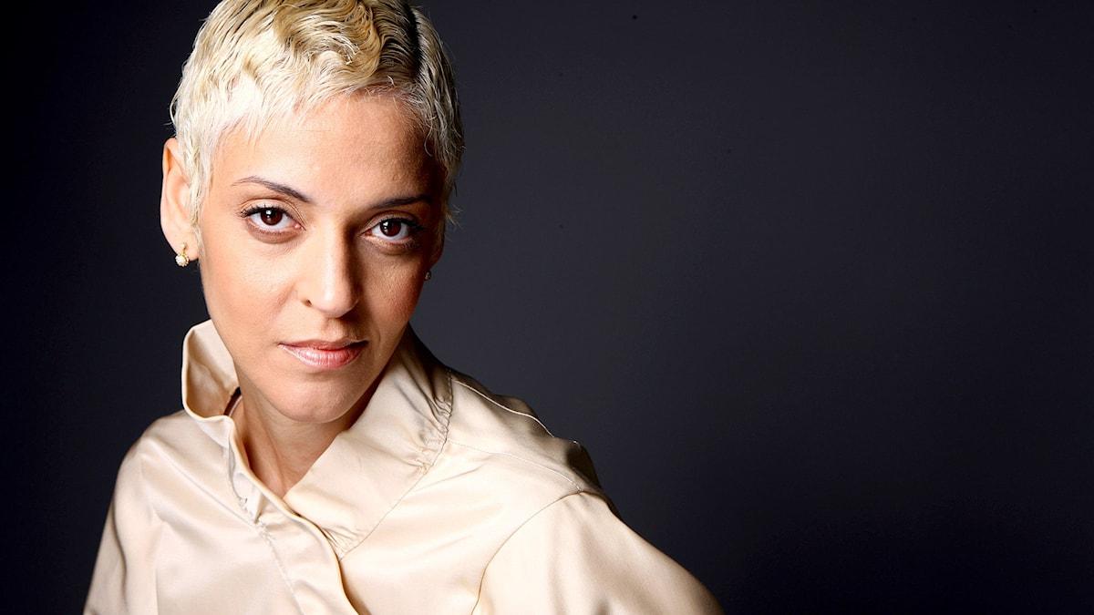 Den portugisiska sångerskan Mariza.