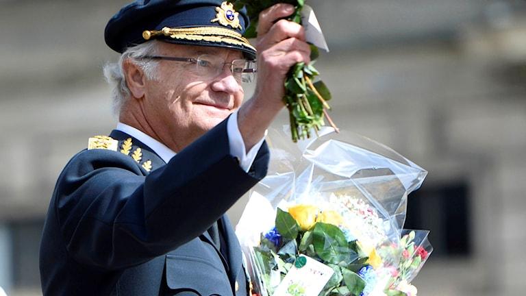 Kungen firas på sin 70-årsdag