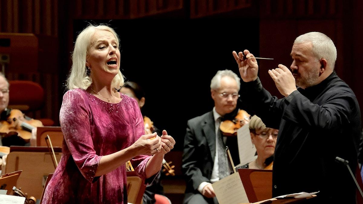 Ann Sofie von Otter och Marc Minkowski.