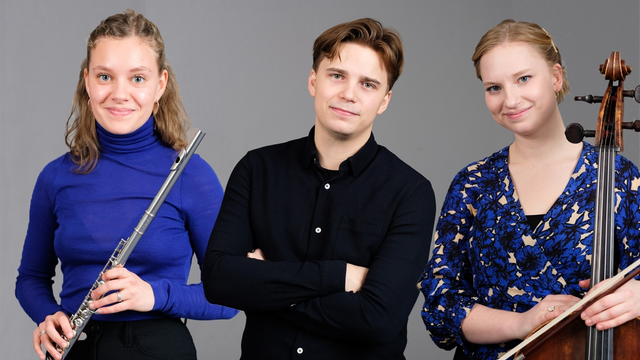 Bild: Laura Michelin, Pontus Carron och Kristina Winiarski.