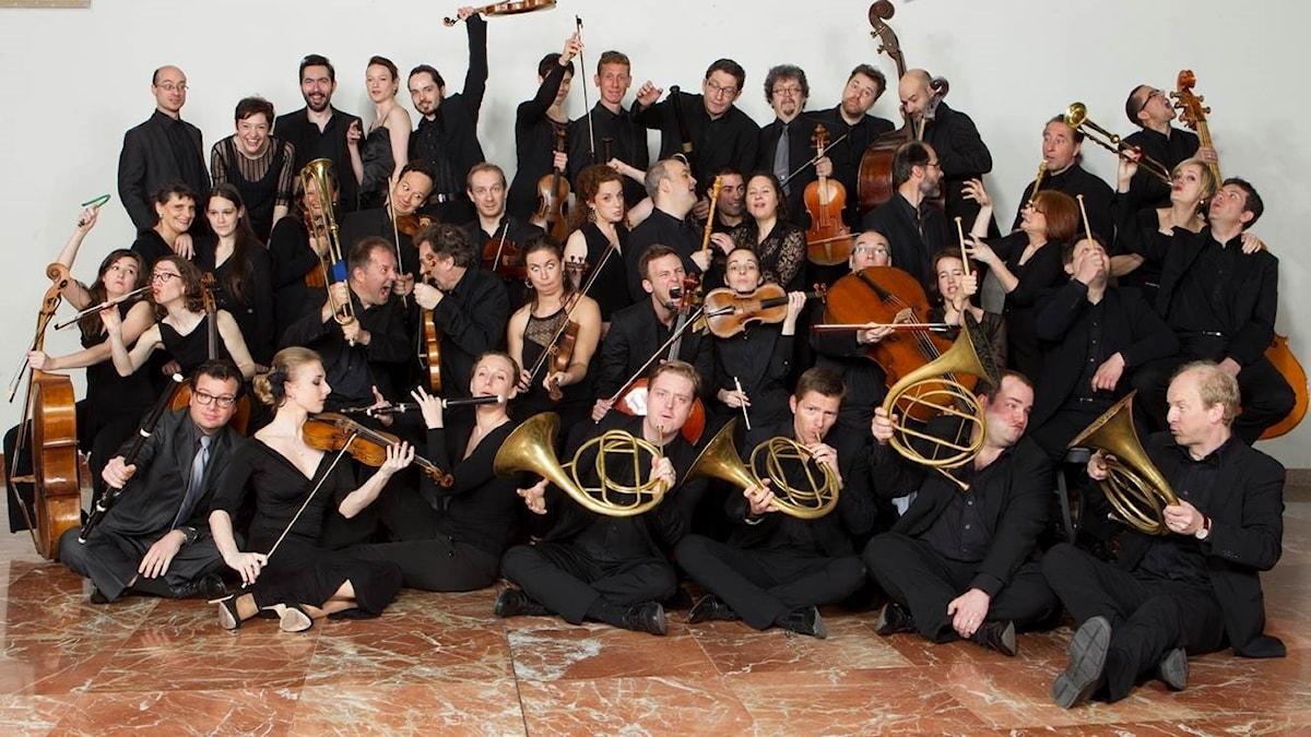Barockensemblen Le concert d'astrée.