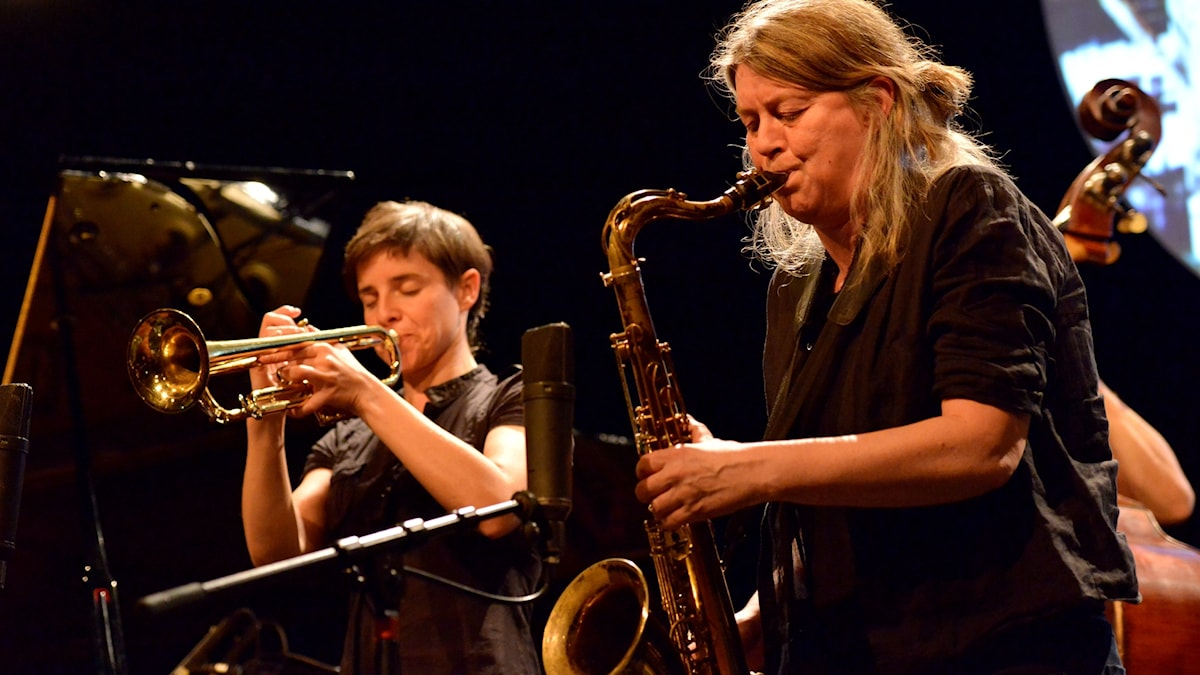 Susana Santos Silva och Lotte Anker.