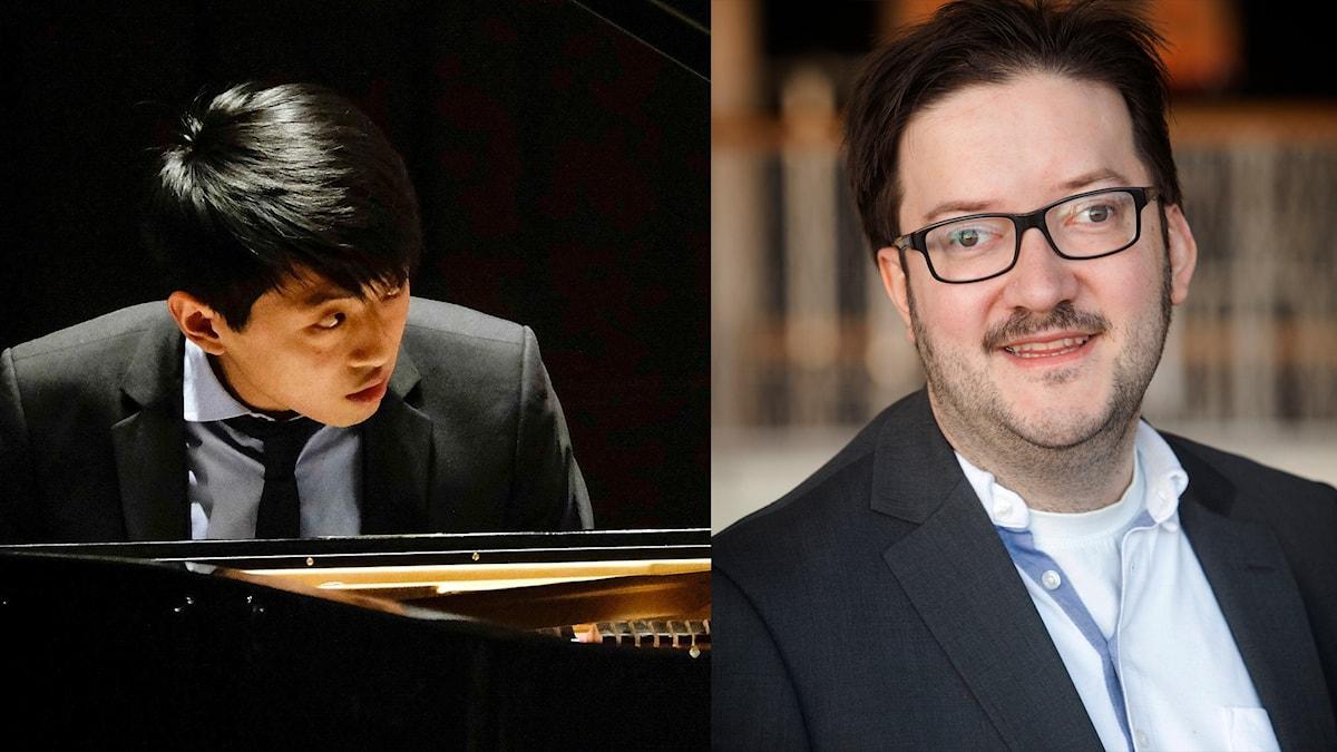 David Huang och Benjamin Staern