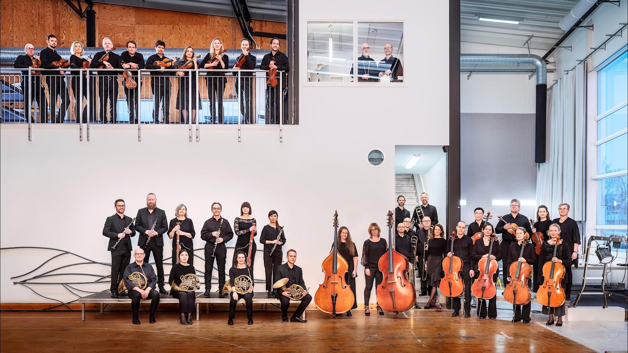 Bild: Norrlandsoperans symfoniorkester.