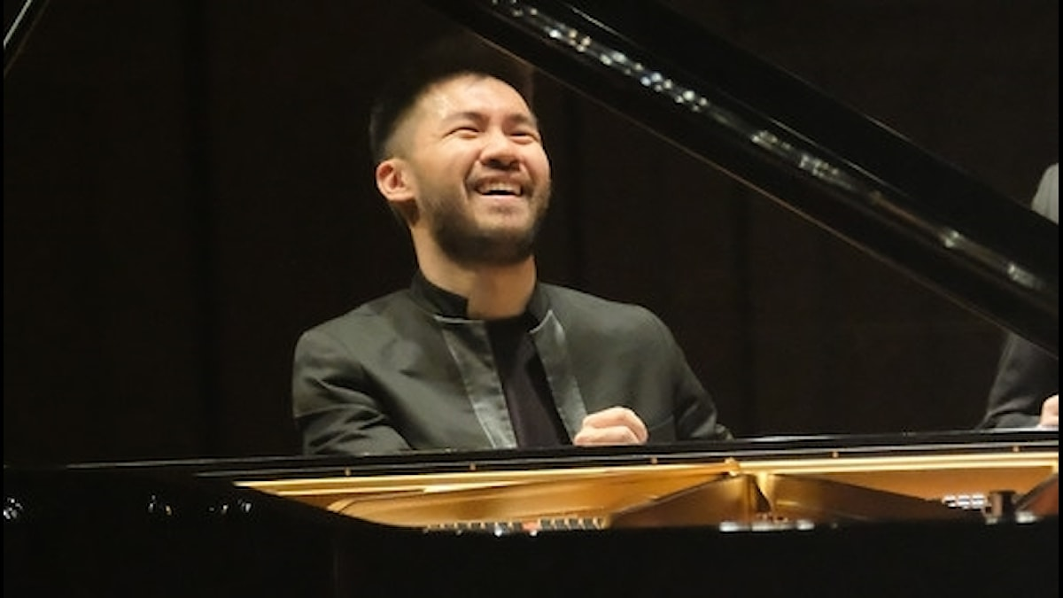 Conrad Tao, Berwaldhallen, maj 2016