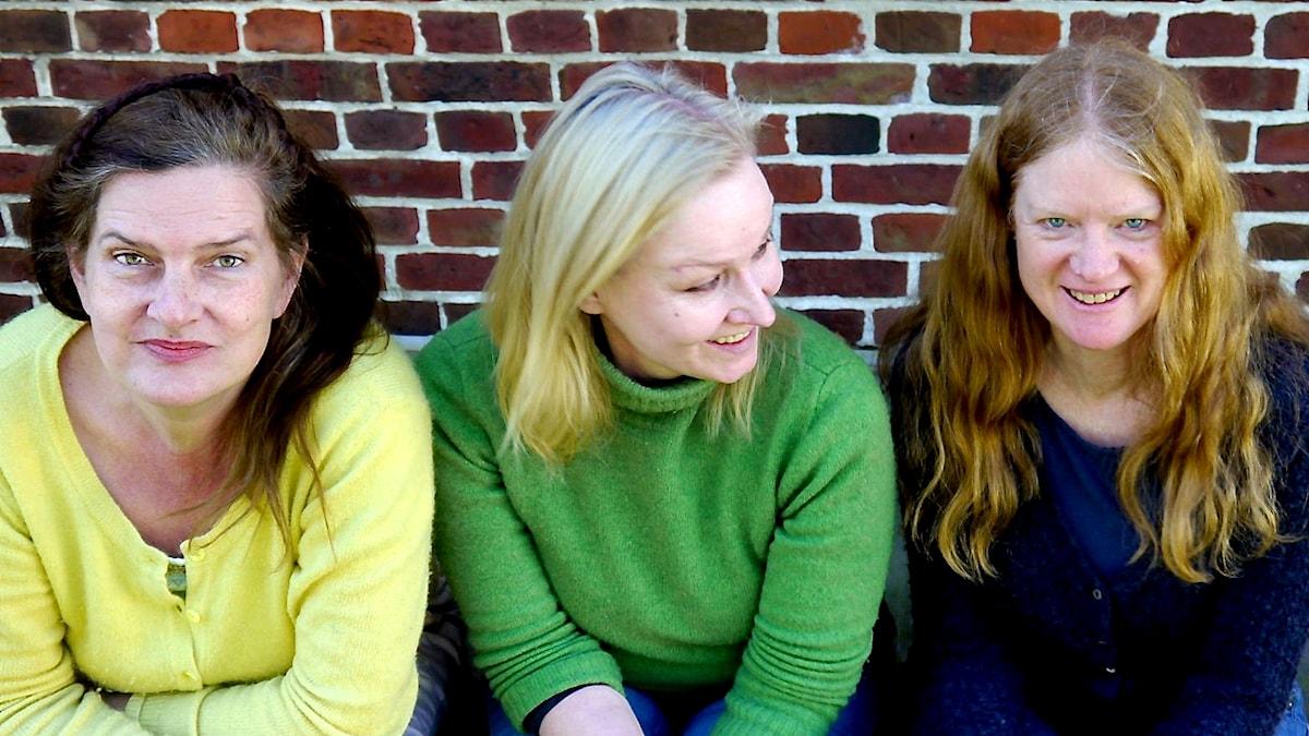 Ensemblen Ulv är Agnethe Christensen, Elizabeth Gaver och Lena Susanne Norin.