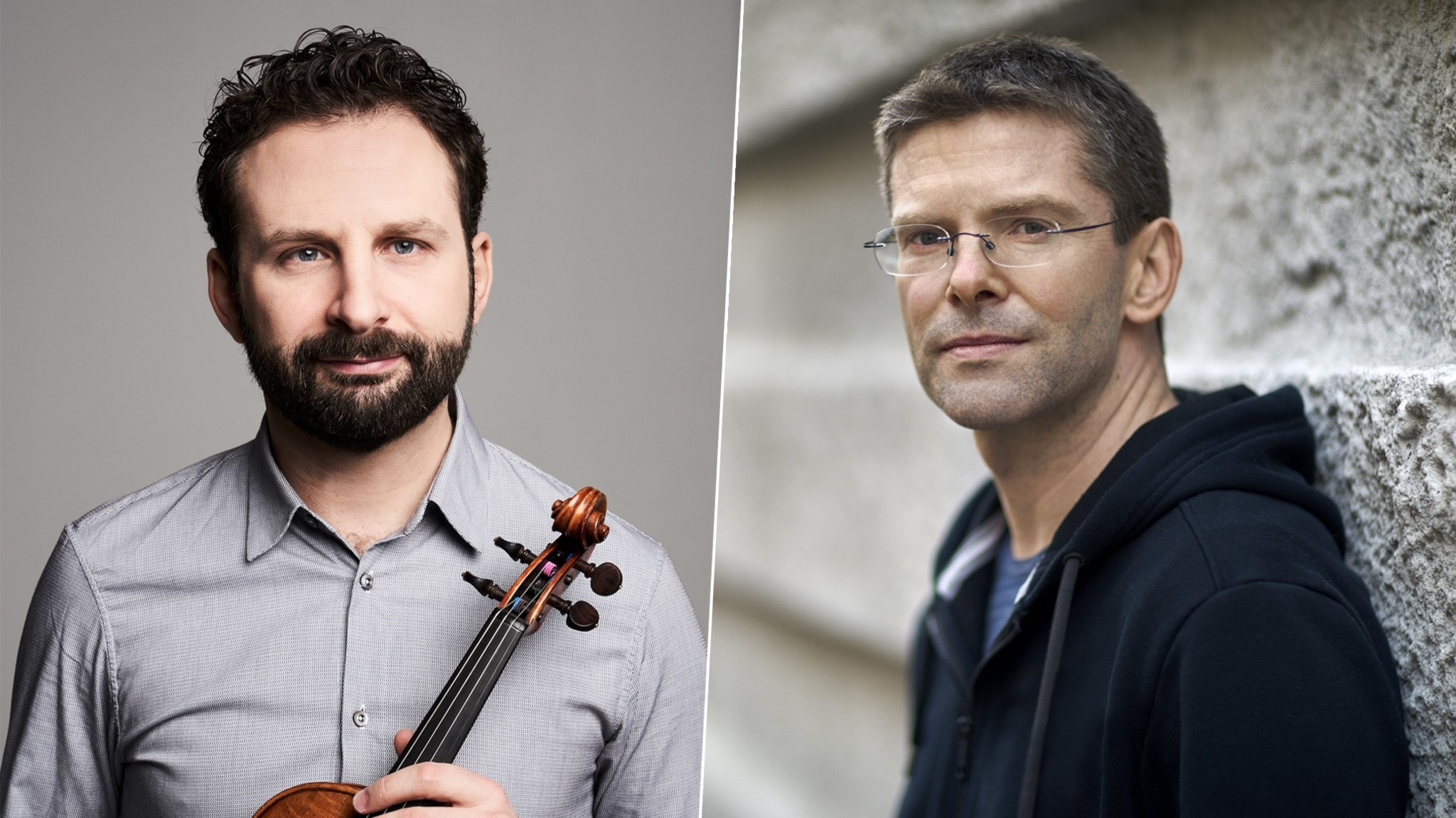 Bild: Ilya Gringolts är solist i Albert Schnelzers violinkonsert.