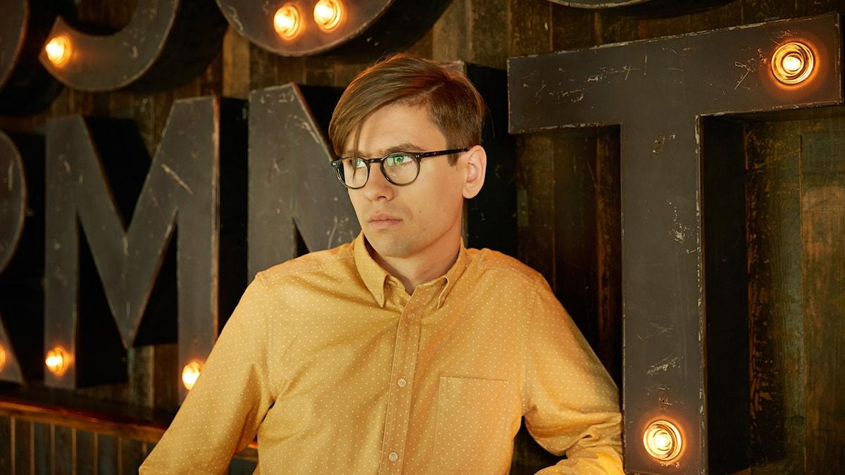 Bild på pianisten Víkingur Olafsson
