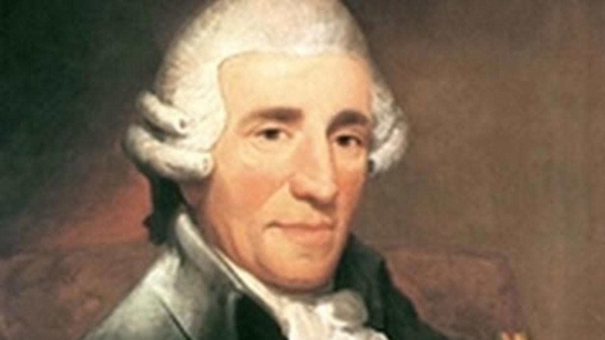 Joseph Haydn 1732–1809 var en av klassicismens förgrundsfigurer.