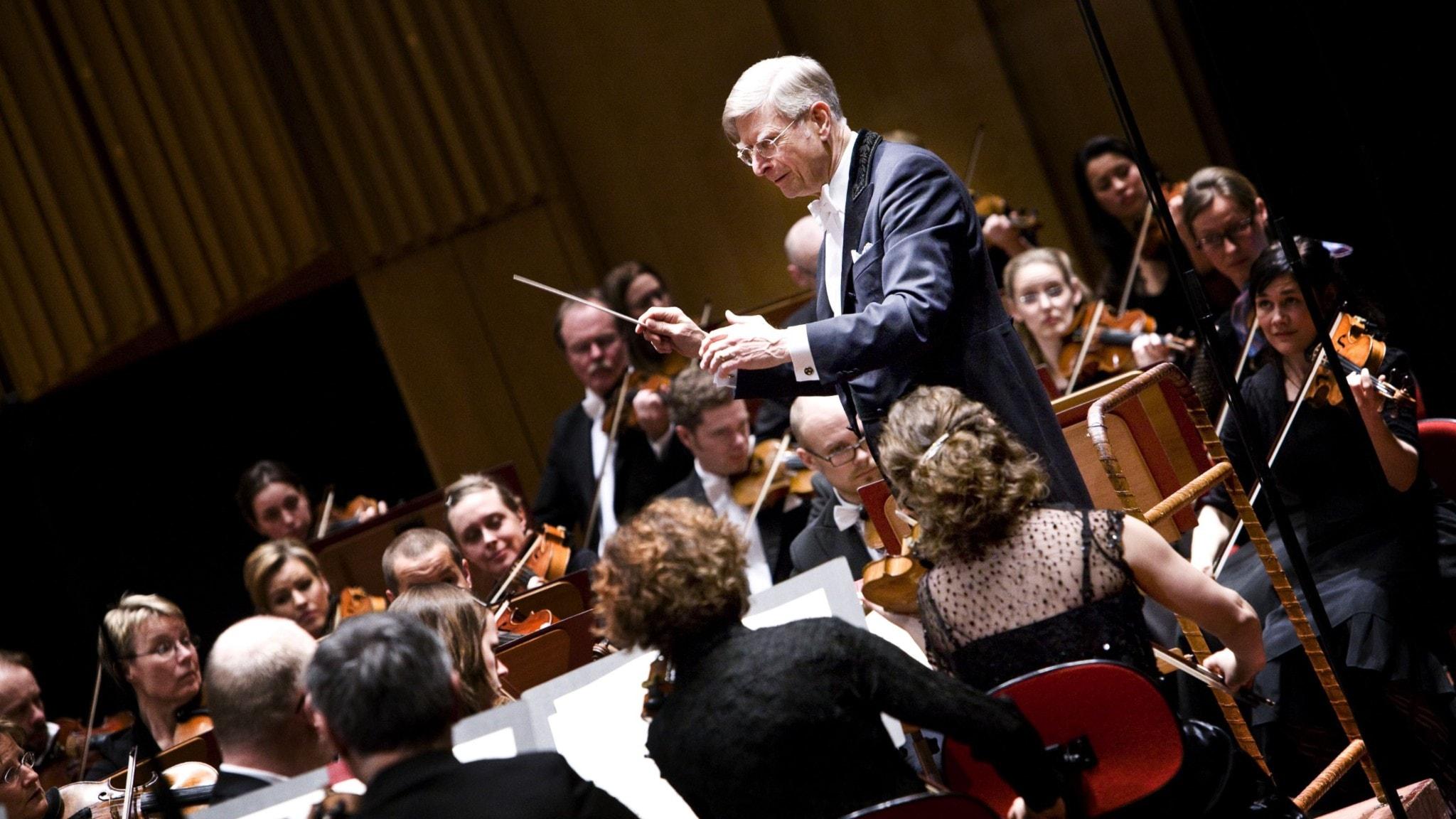 Bild: Herbert Blomstedt leder Radiosymfonikerna genom Beethovens Missa solemnis!