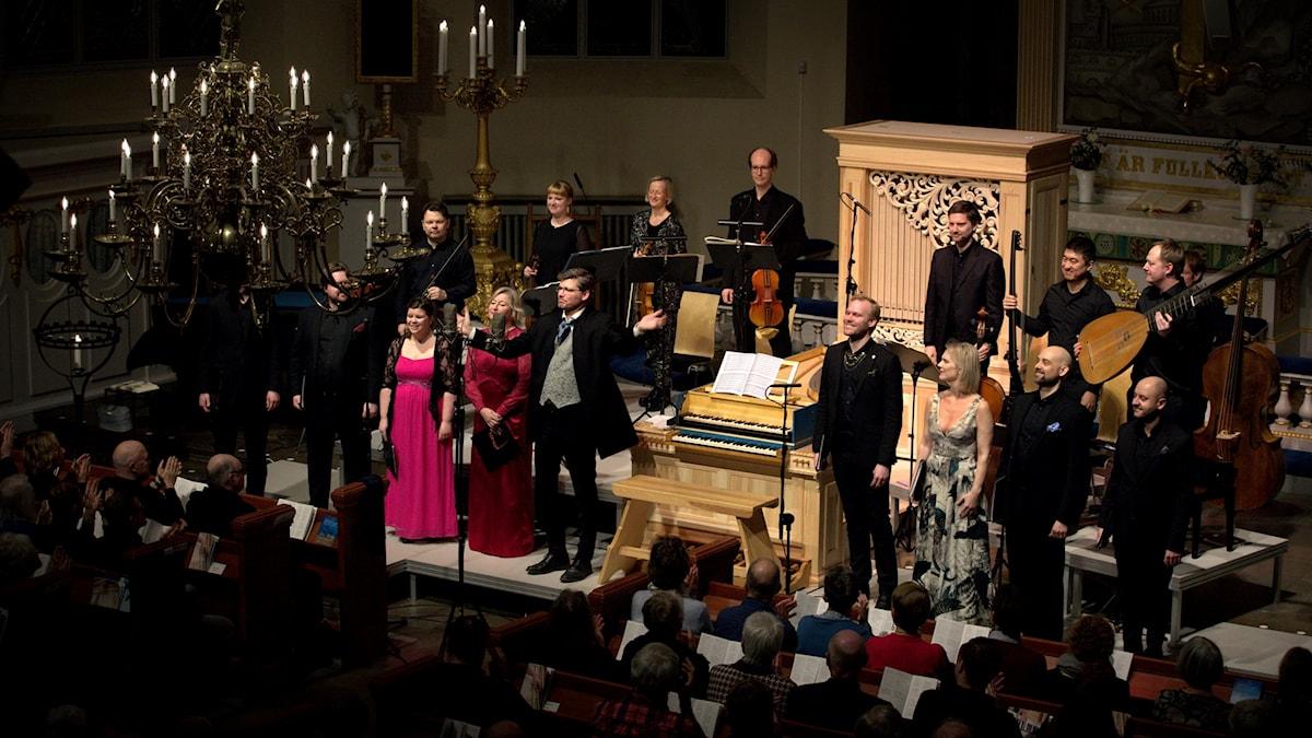 Göteborg Baroque och Magnus Kjellsson.