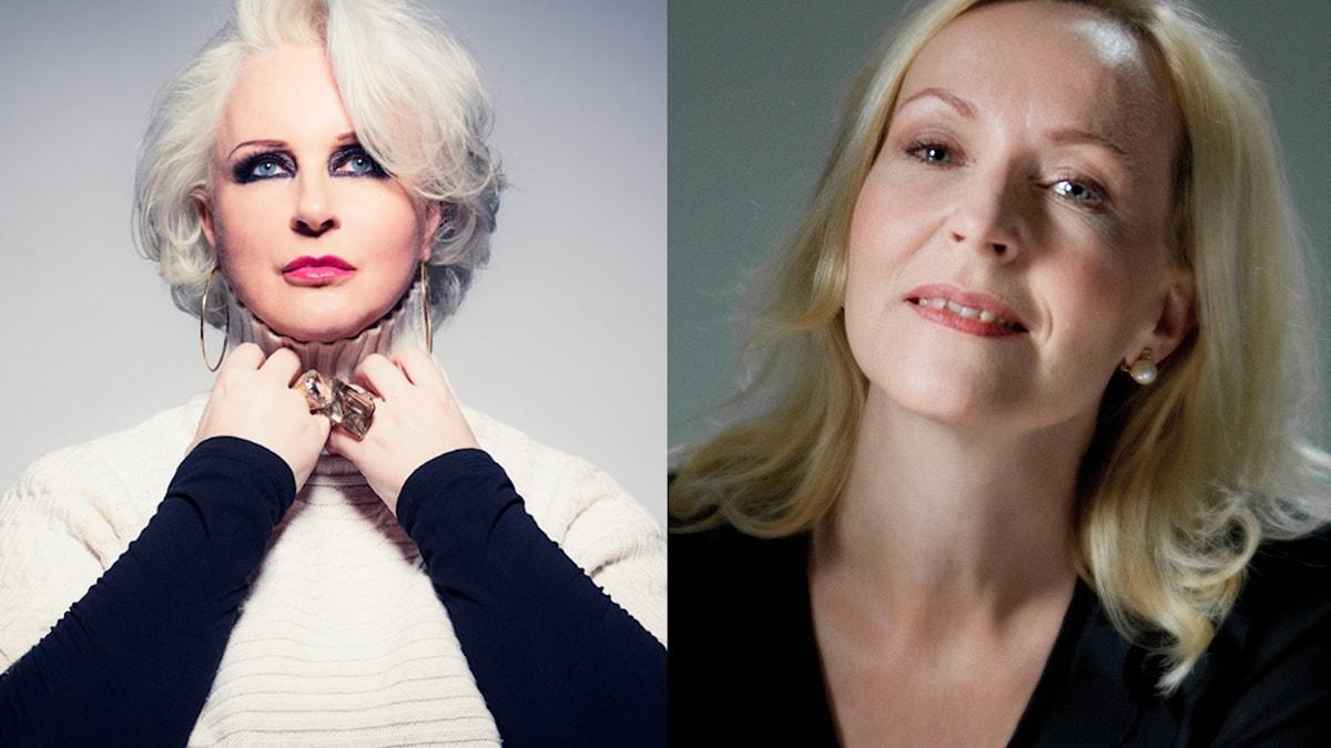 Iréne Theorin och Ulrika Tenstam