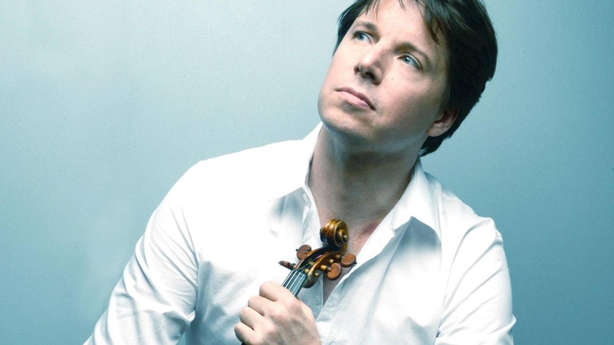 Den amerikanska violinisten Joshua Bell.