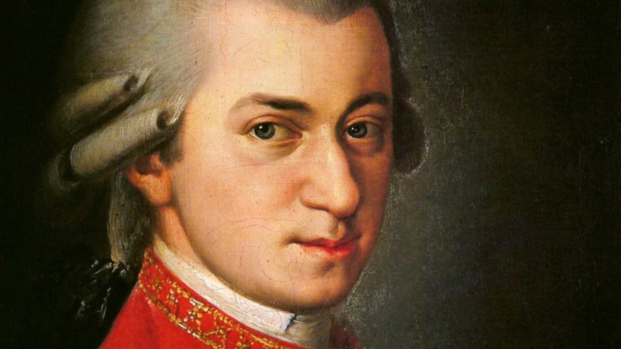Wolfgang Amadé Mozart.