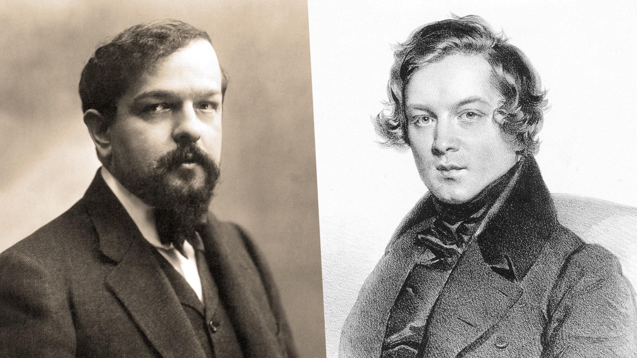 Claude Debussy och Robert Schumann.