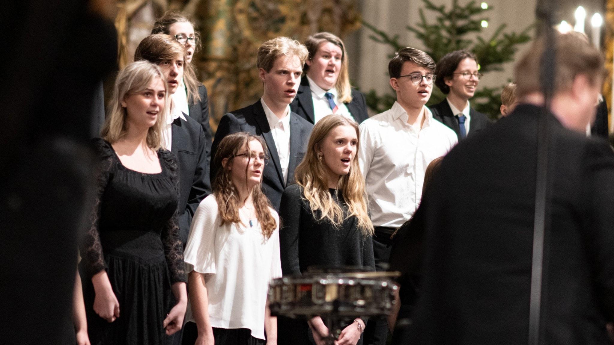 Julkonsert med körer i S:t Petri kyrka i Malmö