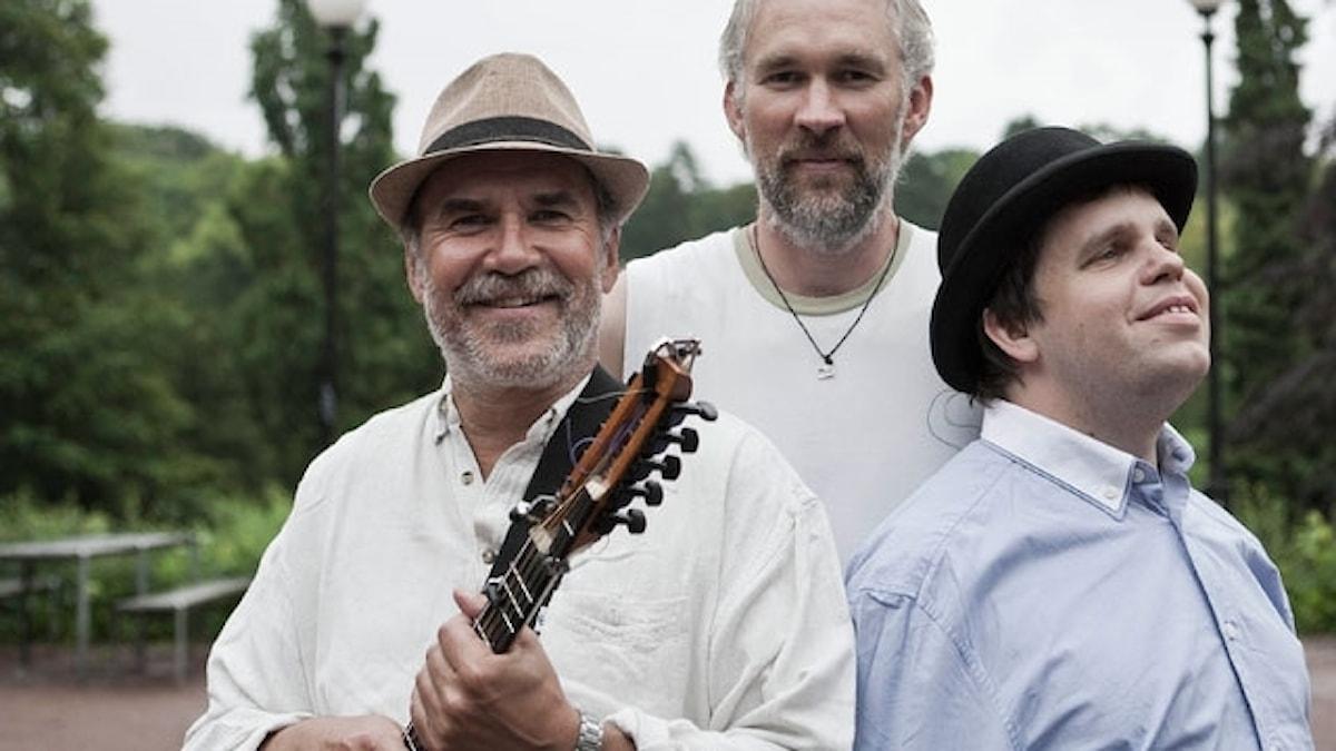 Ale Möller Trio består av Ale Möller, Olle Linder och Mats Öberg.