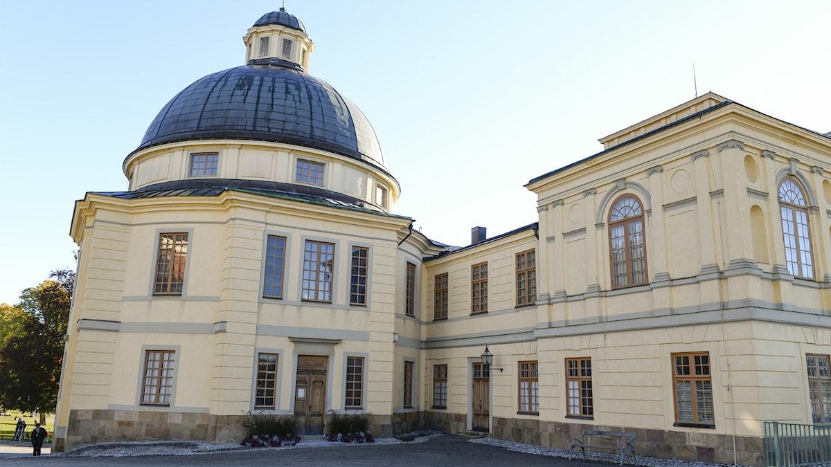 Bild: Drottningholms slottskyrka.