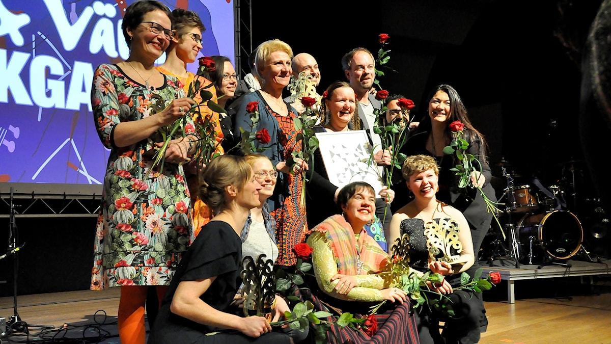 Vinnarna på Folk- och Världsmusikgalan 2017