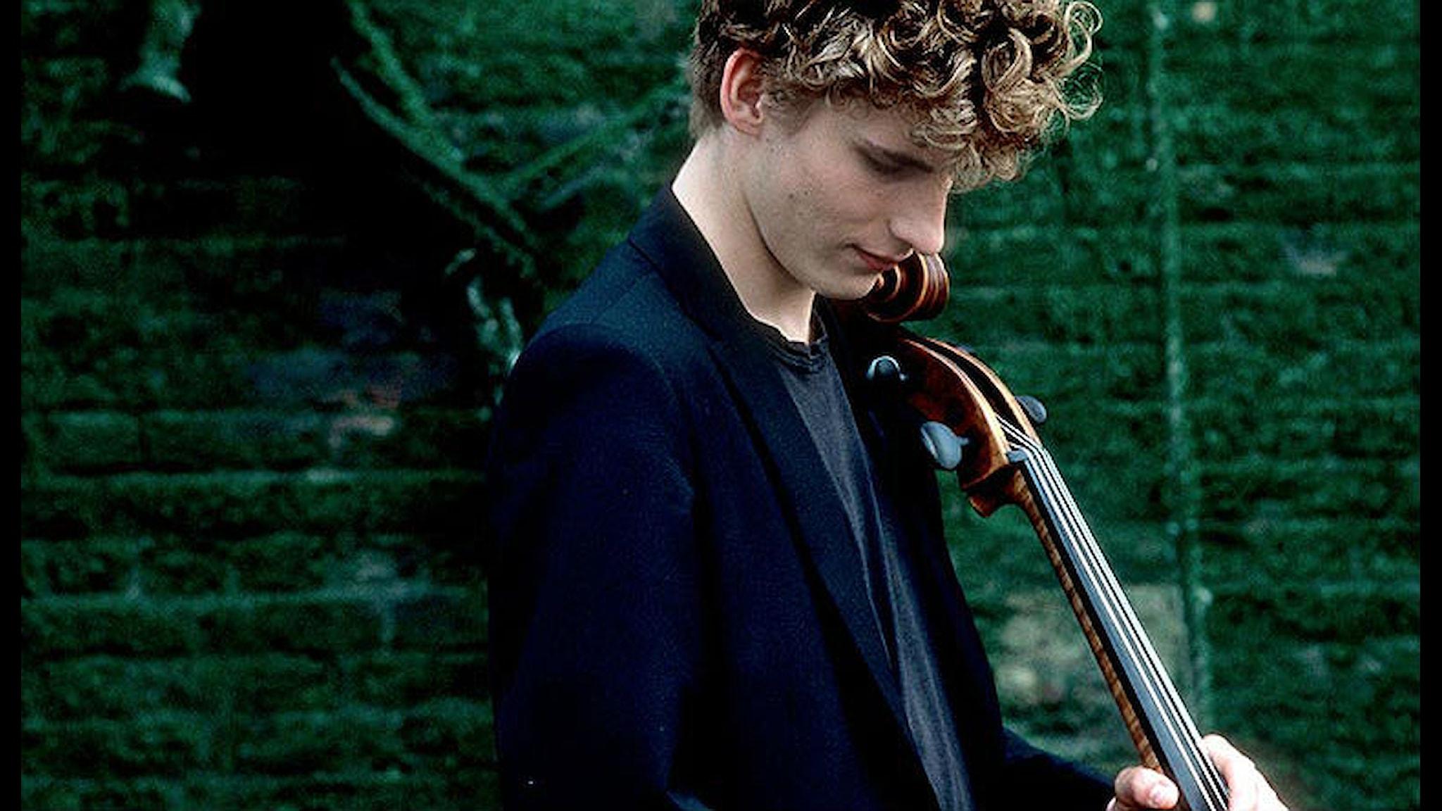 Konsertens solist Andreas Brantelid. Foto: Sussie Ahlburg