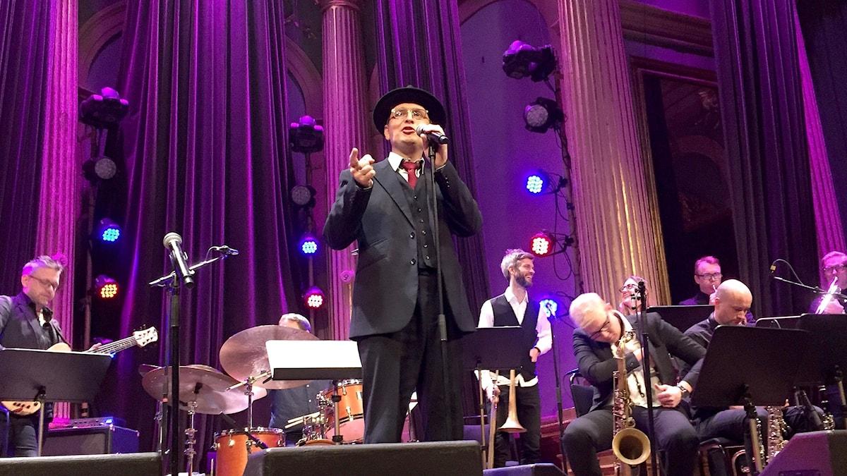 Freudenthal Yiddish Orchestra på Nalen i Stockholm.