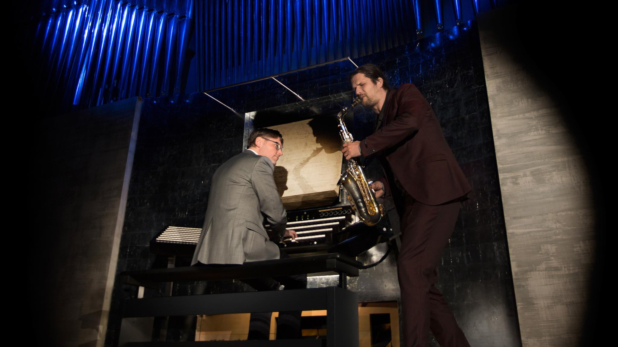 KONSERT: Orgel och saxofon i Luleå och vokalmusik från Schweiz
