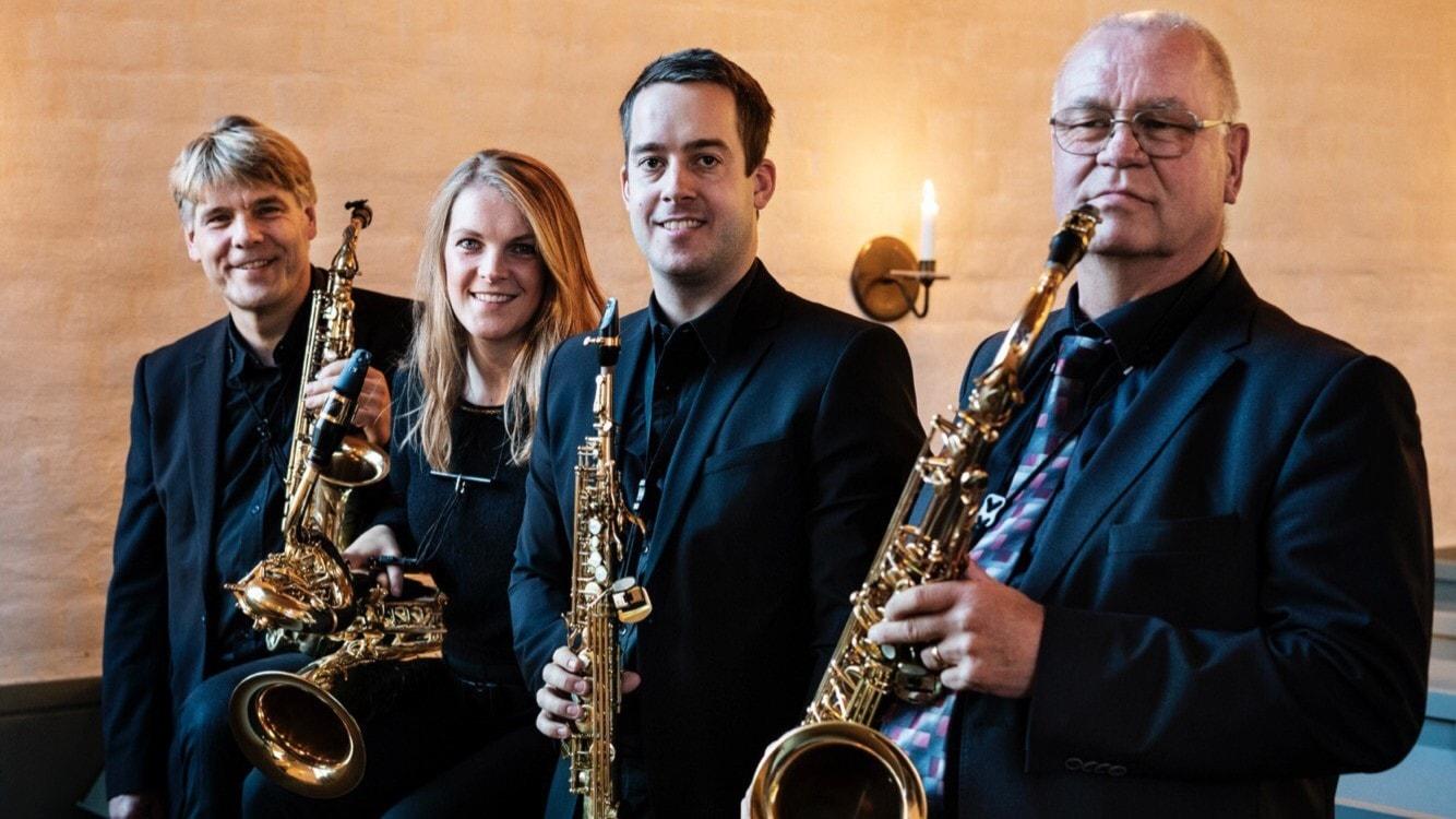 Stockholms saxofonkvartett 50 år