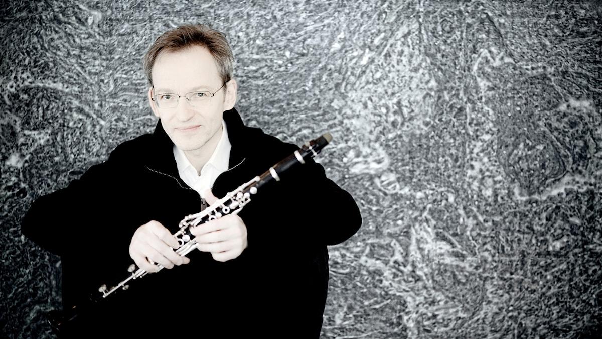 Den finländska klarinettisten Kari Kriikku.