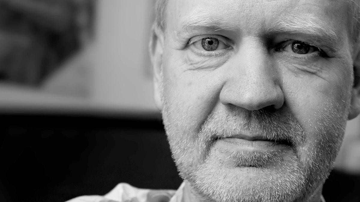 Den svenska tonsättaren Örjan Sandred.