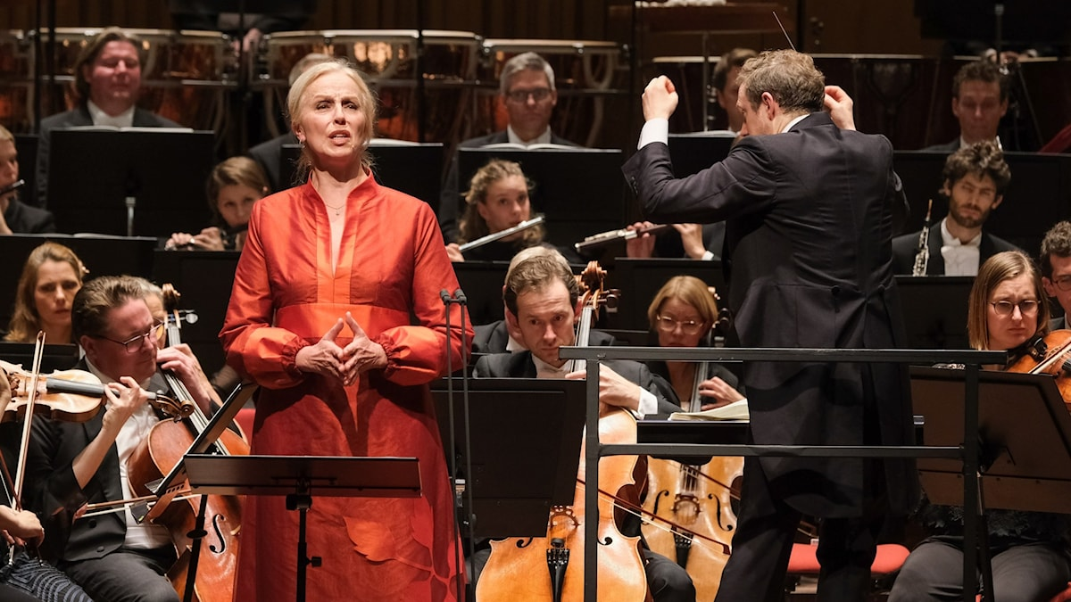 Bild: Mahlers trea i Berwaldhallen med Anne Sofie von Otter, Daniel Harding och Sveriges Radios symfoniorkester.