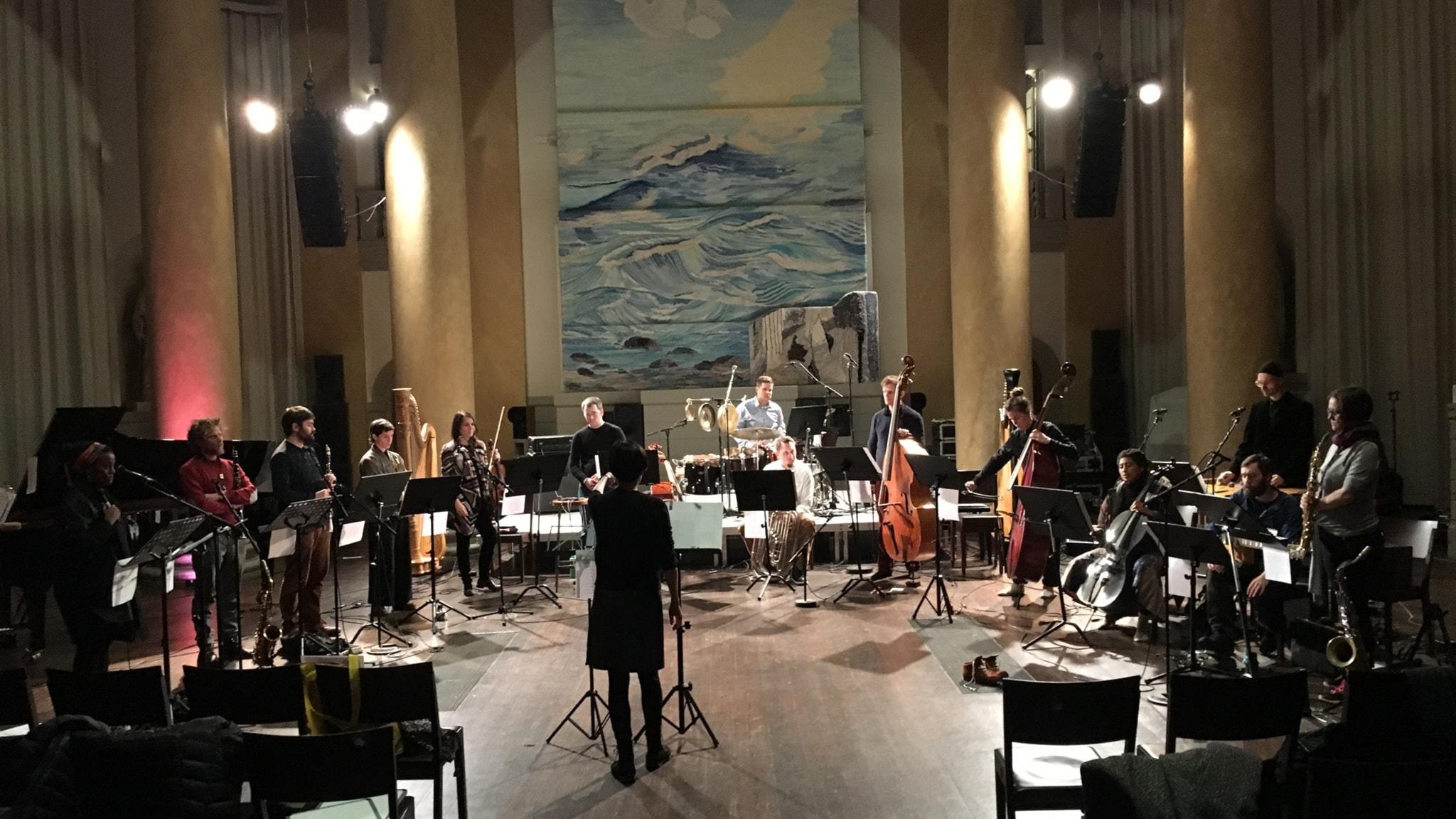 Bild: Tri-centric project spelar musik av Anthony Braxton.