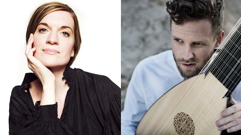 Ruby Hughes och Jonas Nordberg